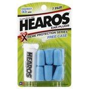 Hearos Ear Plugs, Highest 33 NRR, Card