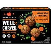 Applegate Organic Asian Style Pork & Veggie Meatballs