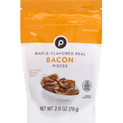 Publix Bacon Pieces, Maple-Flavored, Real