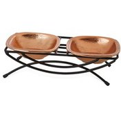 Harmony Copper 1 Cup Cat Double Diner
