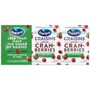Ocean Spray 50% Less Sugar Dried Cranberries