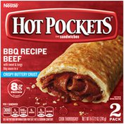 Hot Pockets BBQ Recipe Beef Crispy Buttery Crust Frozen Snacks