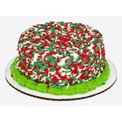 Ahold Gold Cake Christmas Sprinkle
