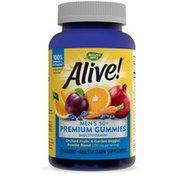 Nature's Way Alive!® Premium Men's 50+ Gummy Multivitamin