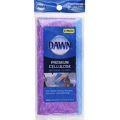 Dawn Sponge Cloth, Premium, Cellulose, 2-Pack!