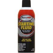 Race Pro Starting Fluid, for Gas and Diesel Engines