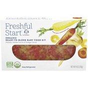Gerber Parsnip, Yellow Carrot & Orange Carrot Organic Ready-to-Blend Baby Food Kit