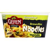 Gefen Fusion Brown Rice Noodles Vegetable