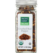 Pacific Coast Organic Red Pepper, Crushed
