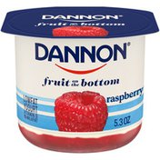 Dannon Raspberry Yogurt
