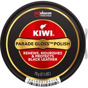 Kiwi Parade Gloss, Polish, Black