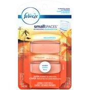 Febreze Small Spaces Febreze SmallSpaces Hawaiian Aloha Refills Air Freshener (2 Count, 11 ml) Air Care