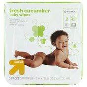 Up&Up Baby Wipes, Fresh Cucumber, 3 Packs