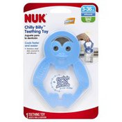 NUK Teething Toy, Chilly Billy, Silicone, 3-36 M