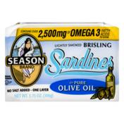 Season Brand Sardines in Pure Olive Oil