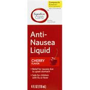 Signature Care Anti-Nausea Liquid, Cherry