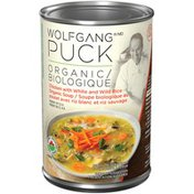 Wolfgang Puck Chicken with White and Wild Rice Organic Soup