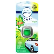 Febreze Car Odor-Eliminating Air Freshener Vent Clip with Gain Scent, Original