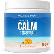 Natural Vitality Anti-Stress Drink Mix, Orange Flavor