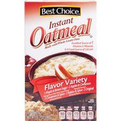 Best Choice Instant Oatmeal Variety
