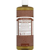 Dr. Bronner's Pure-Castile Soap, 18-in-1 Hemp, Eucalyptus