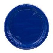 Amscan Plates Bright Royal Blue 7 Inch - 20 CT
