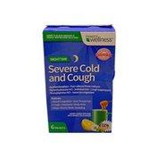 Family Wellness Nighttime Severe Cold And Cough, Honey Lemon