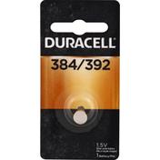 Duracell Battery, Silver Oxide, 384/392, SR41
