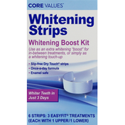 Core Values Whitening Boost Kit, Whitening Strips