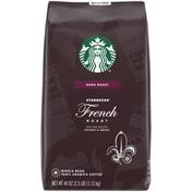 Starbucks French Roast Dark Roast Whole Bean Coffee