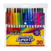 Cra-Z-Art Washable Super Tip Markers - 30 CT