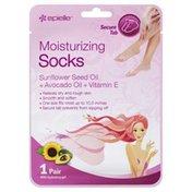 Epielle Socks, Moisturizing