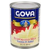 Goya Evaporated Milk