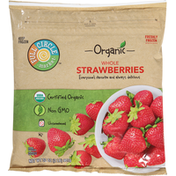 Full Circle Strawberries, Whole, Unsweetened