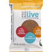 PROBAR Nutrition Bar, Live Probiotic, Peanut Butter