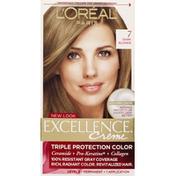 Excellence Permanent Haircolor, Creme, Dark Blonde 7