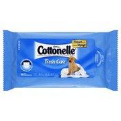 Cottonelle Moist Wipes, Flushable, Travel Pack