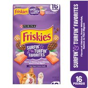 Friskies Dry Cat Food, Surfin' & Turfin' Favorites