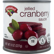 Hannaford Jellied Cranberry Sauce