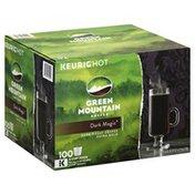 Green Mountain Coffee, Dark Roast, Extra Bold, Dark Magic, K-Cup Pods