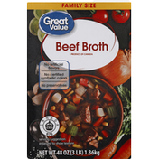 Great Value Beef Broth, Family Size