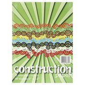 Norcom Construction Paper, 8 Assorted Colors