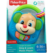 Fisher-Price Sing & Learn Music Player, 6-36 M