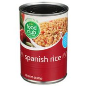 Food Club Mexican Style Spanish Rice
