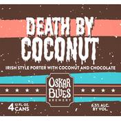 Oskar Blues Brewery Beer, Death by Coconut