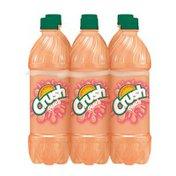 Crush Caffeine Free Peach Soda