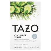 Tazo Tea Tea Bag Cucumber White