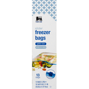 Food Lion Freezer Bags, Slider, Gallon Size