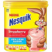 Nestle Nesquik Strawberry Flavored Milk Powder
