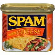 SPAM With Cheese Canned Meat
